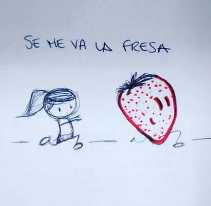 Se me va la fresa